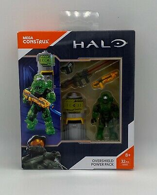 Mega Construx Halo OVERSHIELD Boost Power Weapons Pack FMM83
