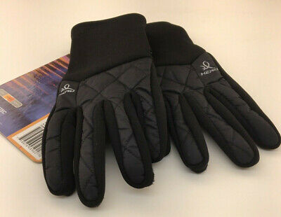 Head Womens Hybrid Gloves Large with Sensatec Black
