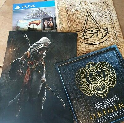 Assassin's Creed Origins Limited Edition Promotional Items - Sountrack CD & Map