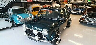 1998 Classic Mini Rover Mini 1300 SPI british racing green, stunning car