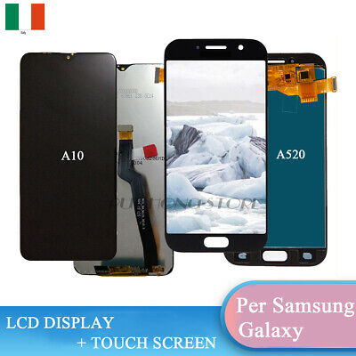 LCD Display Samsung A10 2018 SM-A105FN / A5 2017 SM-A520F Touch Screen Schermo