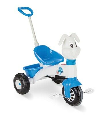 Pilsan Bunny Tricycle with Parental Control White