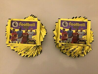 Panini Football 2020 Premier League Sticker Collection. 50 Packs