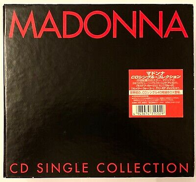 "MADONNA CD SINGLE COLLECTION JAPAN 40 X 3""CD BOX SET very rare! WPDR-3100-3139"