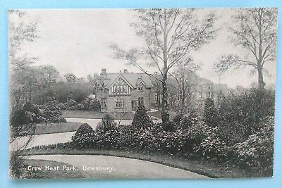 Dewsbury - Crow Nest Park - late 19th/early 20th century - unposted