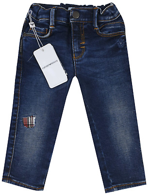 NEW Emporio Armani Junior RRP £129 AGE 18 MONTH Kids Boys baby Jeans Pants A711