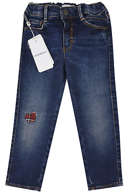 NEW Emporio Armani Junior RRP £129 AGE 36 MONTH Kids Boys baby Jeans Pants A713