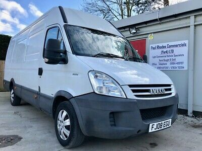 Part-Exchange 2008 Iveco Daily 35S12 LWB High Roof Panel Van with 4 Months MOT