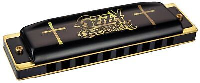 Hohner M666 Ozzy Osbourne Harmonica with Unique Metal Box in Coffin Shape