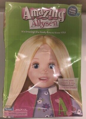 Amazing Allysen Interactive Playmate Doll Vintage Very Rare