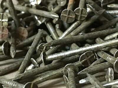 """50mm /& 4/"""" 75mm GALVANISED ROUND NAILS TIMBER FLAT HEAD  3/"""""""