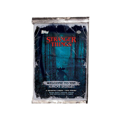 Stranger Things Upside Down Trading Cards Pack NEW Trading Cards Booster Pack
