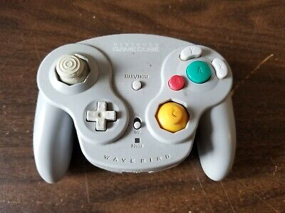 Nintendo WAVEBIRD Wireless Gamecube Controller Only For Parts