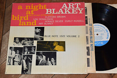Art Blakey NM! Shrink Night at Birdland Blue Note lp RVG NY Mono Horace Silver