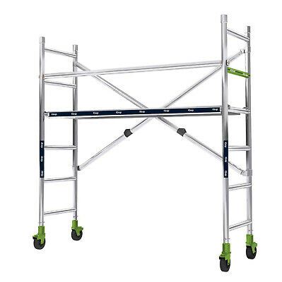 Iquip Folding Scaffold System - Multi Options/Accessories Available- 225Kg Rated