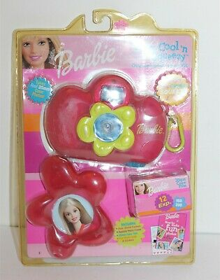 Barbie 35mm Cool 'n Squeezy Outdoor Bubble Camera Kit Brand New Mattel 2002