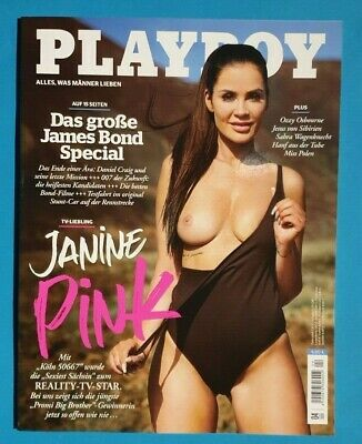 Playboy  April 2020 Janine Pink Reality-TV-Star  NEU + ungelesen