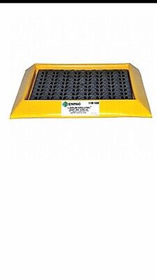 New ENPAC 5750-YE-G Drum Spill Containment Pallet, 1 Drum 4HRD7