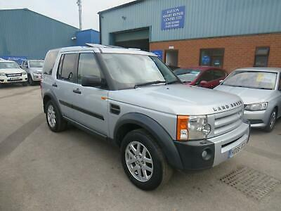 2006 Land Rover Discovery 3 2.7 Tdv6 S 7 Seater In Silver