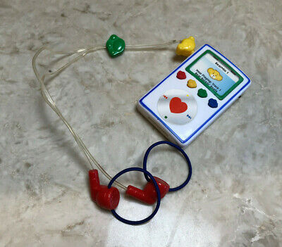 Build A Bear ipod mp3 player WORKS plays four songs