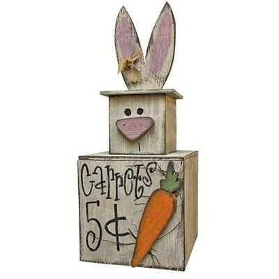 """12/""""X7.5/"""" Country Easter Grapevine Angel Vine Twig FLAT BUNNY Rabbit Primitive"""