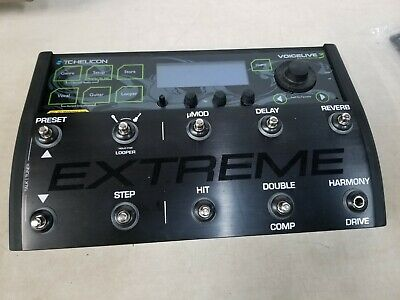 TC Helicon VoiceLive 3 Extreme Vocal Effect Processor TESTED WORKING NEEDS KNOBS