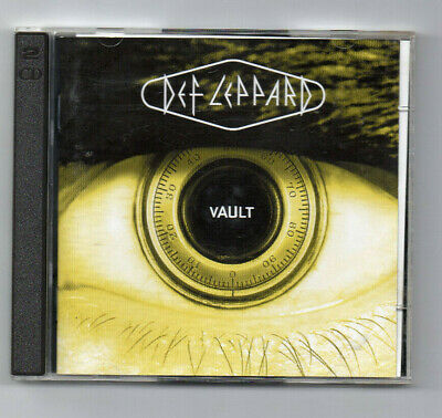 Def Leppard ‎– Vault: Def Leppard Greatest Hits 1980-1995 2  CD Limited Edition