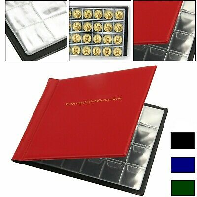 240 Coin Album Penny Money Collecting Storage Book Case Holder Folder Collection