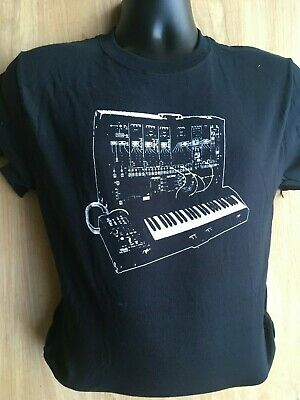 SYNTH MODULAR T SHIRT SYNTHESISER DESIGN SYNTHS ARE LIKE CHOCOLATES S M L XL XXL