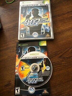James Bond 007 in Agent Under Fire (Microsoft Xbox, 2002) Free Shipping