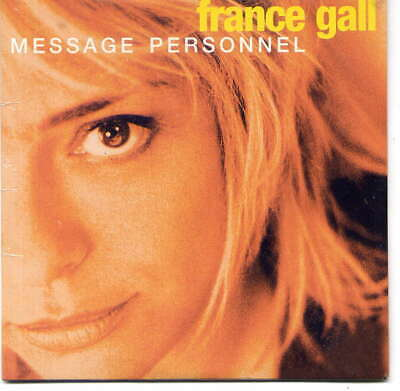 FRANCE GALL -  Message personnel - CD Single - Card sleeve – sealed