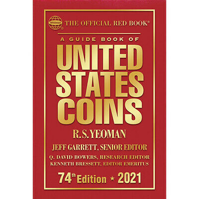 2021 Red Book Price Guide, 74th Edition, Hardbound - IN STOCK & SHIPPING NOW