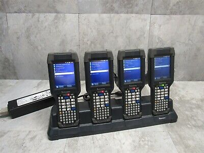LOT of 4 INTERMEC CK3X SCANNER MOBILE COMPUTER WIFI BLUETOOTH + WINDOWS MOBILE 6