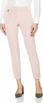 Adrianna Papell Womens Millenium Kate Fit Pink Ankle Dress Pants Size 8 NWT $89