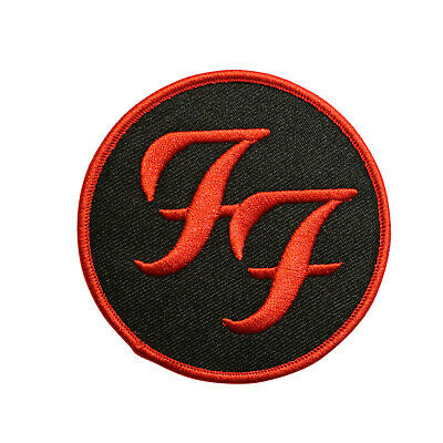 """Foo Fighters Band Patch Rock Music Embroidered Iron On 4.75""""x1.75"""""""