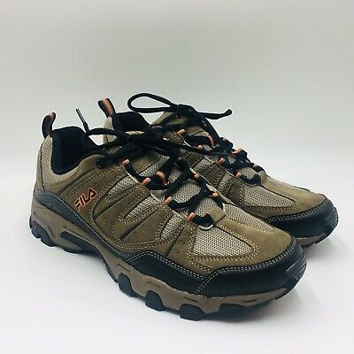 FILA MEN'S MIDLAND Outdoor Hiking Athletic Trail Shoes Brown
