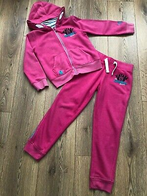 Girls Pink Next Tracksuit Age 8yrs