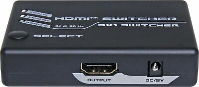 Switcher Hdmi 3 In 1 Out V2.0