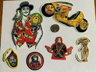 Tyler Stout Stickers The Joker & More Set Of 6 Misc Stickers Rare Excl Set J