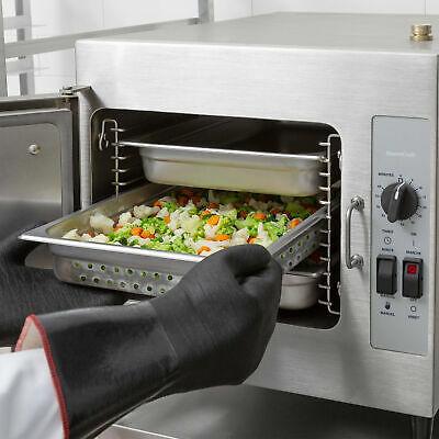Cleveland 3 Pan Electric Countertop Convection Steamer - 208V, 3 Phase, 8.3 kW