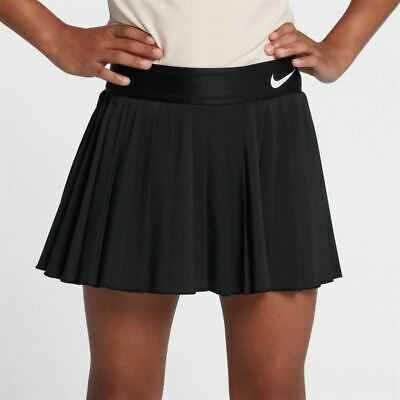 Nike Court Victory Girls skirt with lining shorts - girls S (age 8-10) in black