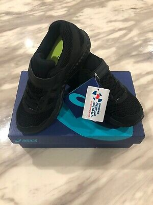 ASICS childrens shoes Contend 5 - Black - Size 3 Brand New Save $25 On New Price