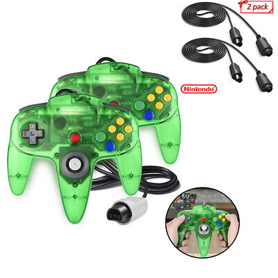 N64 Controller Gamepad Joystick + Extension Cable for Nintendo 64 Game Console