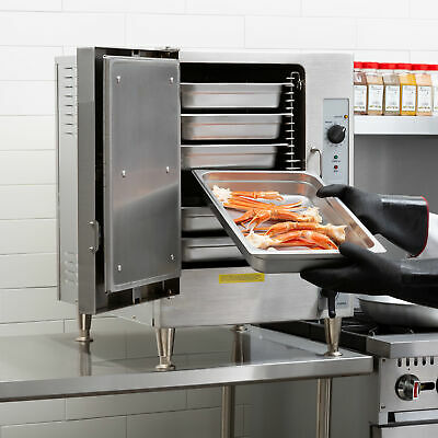 Cleveland 6 Pan Electric Countertop Convection Steamer - 208V, 3 Phase, 12 kW