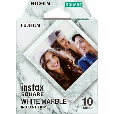 Fuji INSTAX SQ WHITE MARBLE Instant Film - 10 Pictures