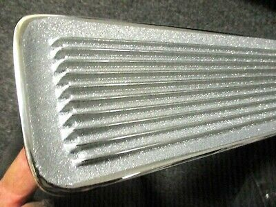 BARRACUDA GRILL HOOD INSERTS 67 - NEW PAINT AWESOME cuda grille 1967 CUDA (pair)