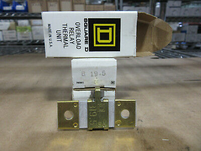NEW IN BOX SQUARE D W.54 OVERLOAD HEATER .54 AMP