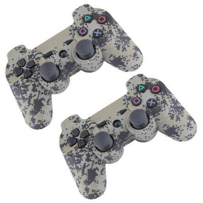 2 Pack Wireless Bluetooth Game Controller Joystick Remote Control For PS3