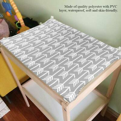 2Pc Baby Changing Table Pad Cover Contoured Diaper Change Kid Nappy Changing