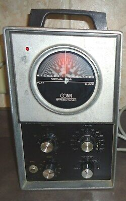 Vintage Conn St-11 Strobo Tuner  Please Read